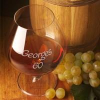 Cognacglazen met tekst
