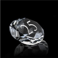 Diamant met gravering
