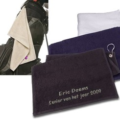 Golf Handdoek met borduring