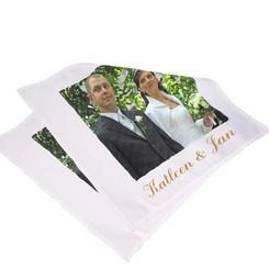 serviette de Table avec photo