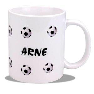 Mug Football avec nom