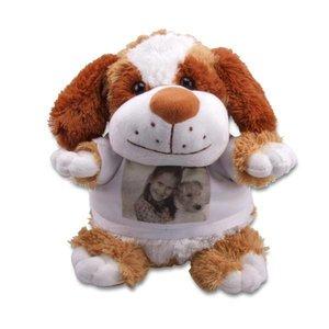 Knuffel Hondje gepersonaliseerd