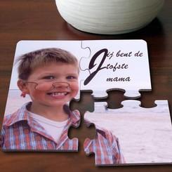 Puzzel Onderlegger met foto