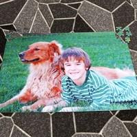 Groot formaat puzzel met foto