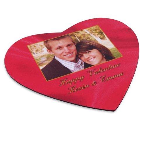 Tapis de Souris Coeur avec photo