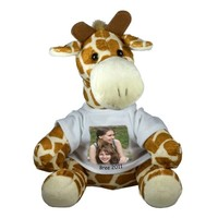 Peluche Girafe avec photo