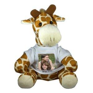 Knuffel Giraf gepersonaliseerd