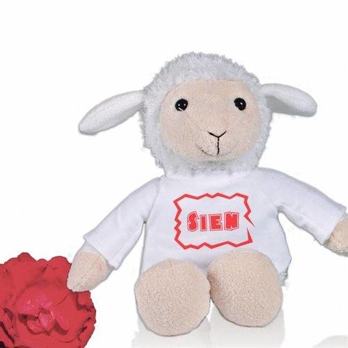 Peluche Mouton Berta avec nom
