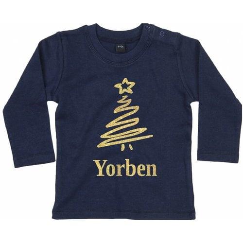 Baby T-shirt Lange Mouw met personalisatie