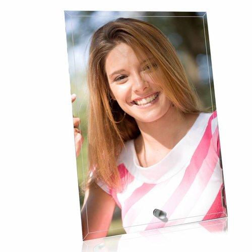 Crystal Foto Standaard met personalisatie