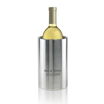 Wijnkoeler met gravering