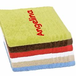 Handdoek met borduring