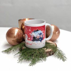 Mok Kerstman gepersonaliseerd