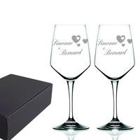 Wijnglazen cadeau set Modo
