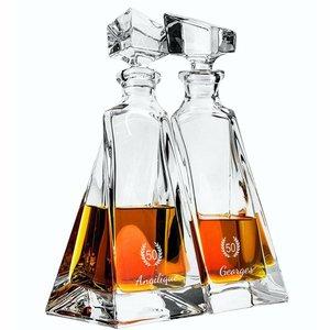 Ensemble de carafe à whisky Amanti