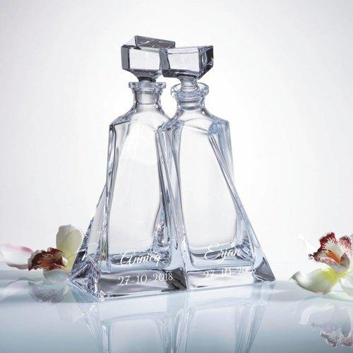 Whiskykaraf Set Amanti gepersonaliseerd