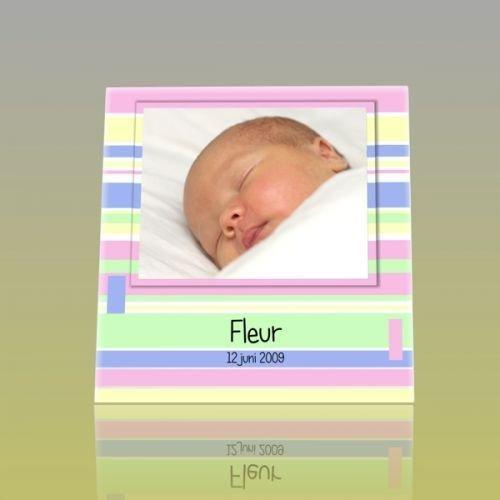 Geboortetegel gepersonaliseerd