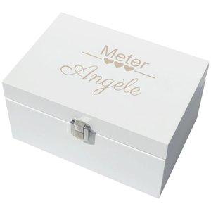 Boîte à bijoux en bois laqué