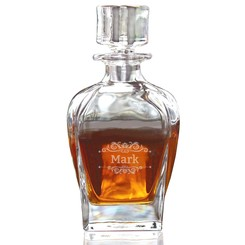 Carafe Whiskey Fusion avec gravure