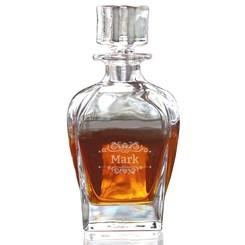 Whiskykaraf Fusion met gravering