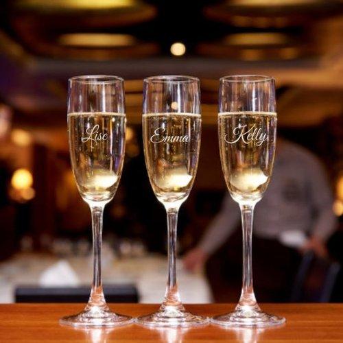 Champagne en wijn cadeaus, met personalisatie