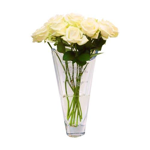 Vase en cristal gravé Parix