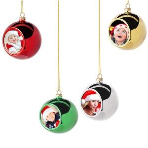 Boule de Noël avec photo