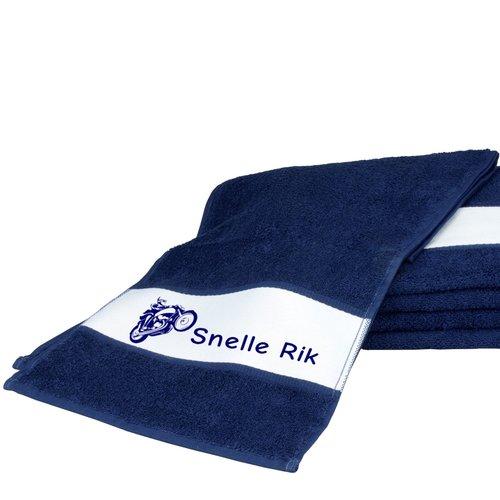Sport handdoek gepersonaliseerd