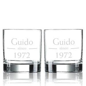 Verres à Whisky Islande avec gravure