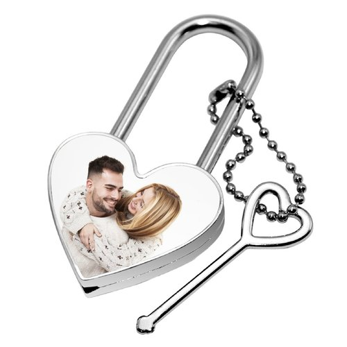 Love Lock Heart met foto