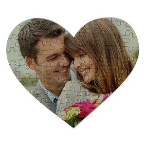 Puzzle Coeur avec votre photo