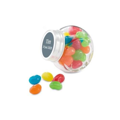 Brianto Bonbonnière personnalisée avec bonbons gélifiés