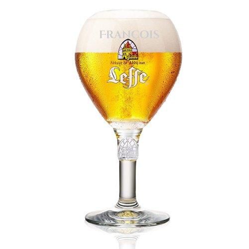 Verre à Bière Leffe avec gravure