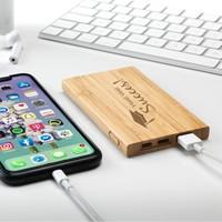 Batterie externe Madera Bamboo
