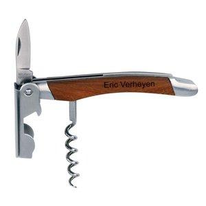 Couteau Sommelier avec texte