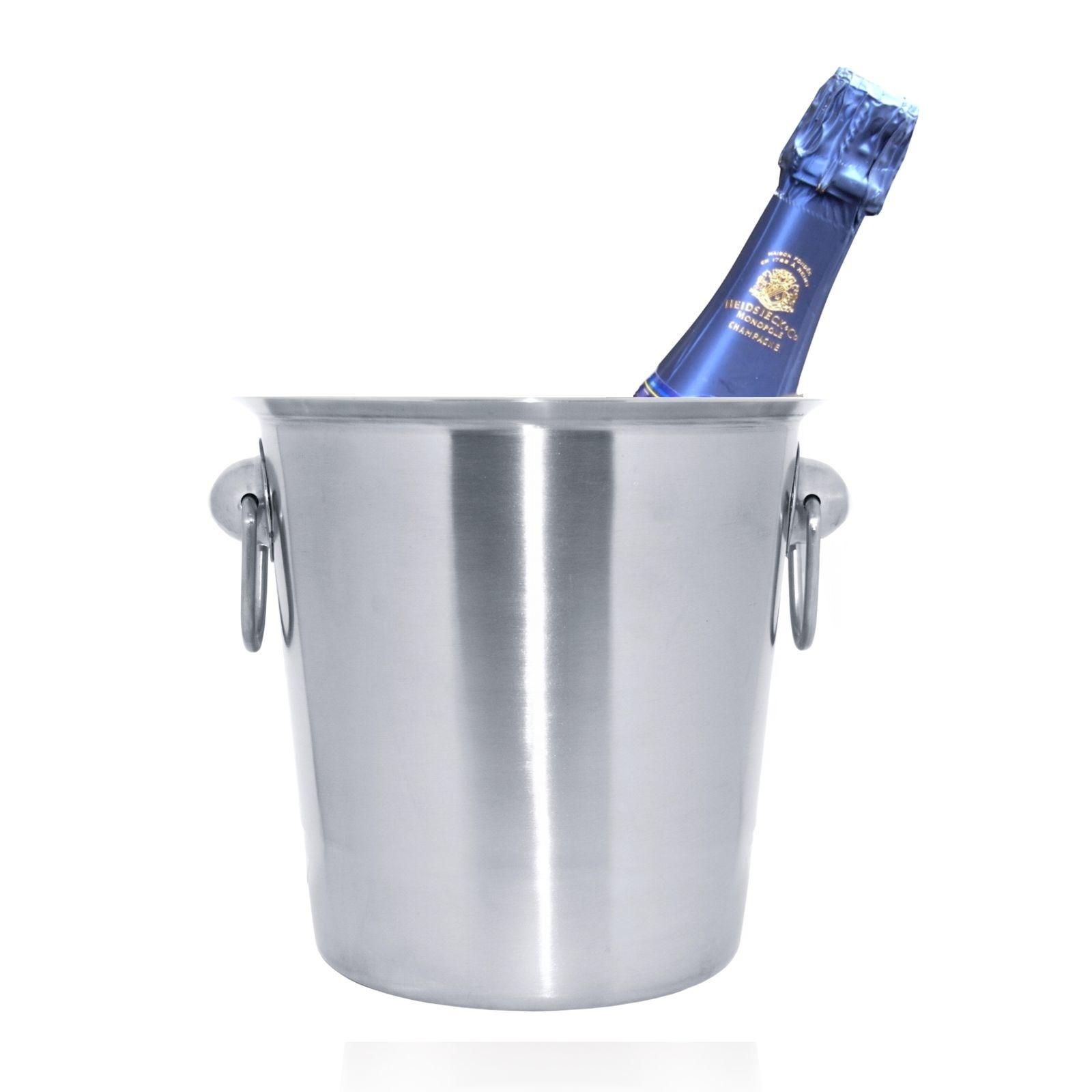 Champagnekoeler inox