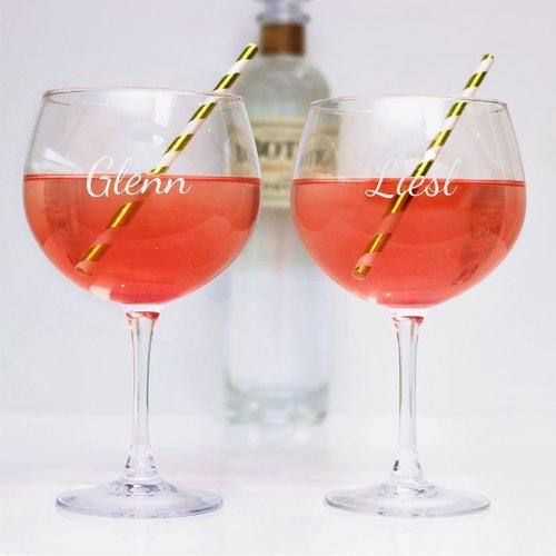 Verres à Gin et Tonic Personnalisés