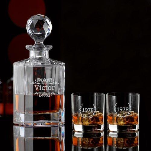Whisky Cadeau Set met gravering