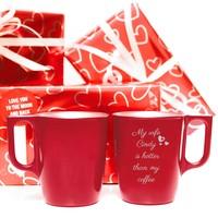 Mug Flashy avec texte et illustration