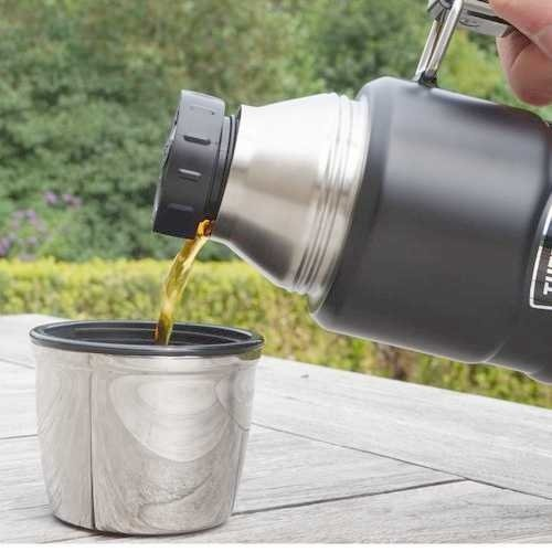 Thermos King bouteille isotherme avec inscription