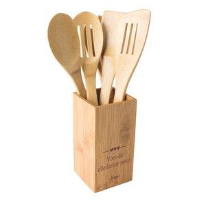 Set de Cuisine en 5 pièces bamboo
