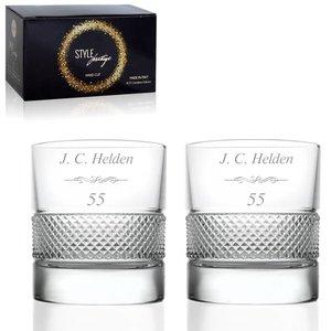 Verres à Whisky Prestige avec personnalisation