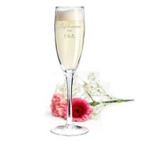 Champagneglas Lana met gravering