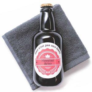 Gel douche en bouteille de bière