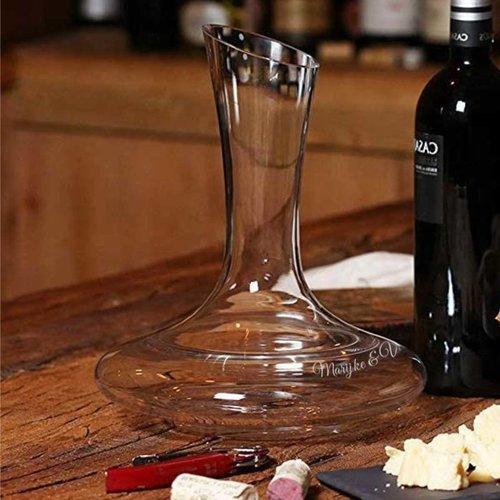 Wijn Decanter Amorpha met tekst
