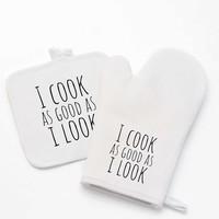 Gant de cuisine avec photo