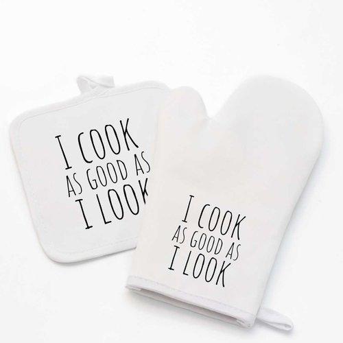 Keukenhandschoen met foto