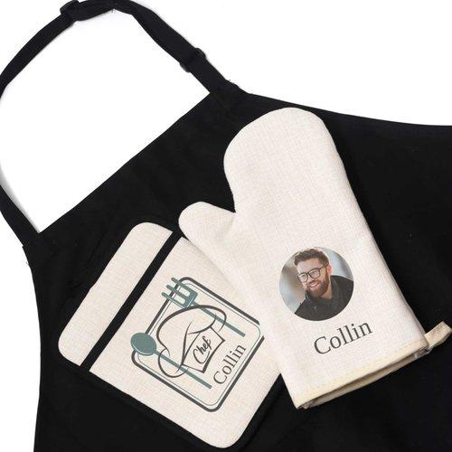 Keuken geschenkset gepersonaliseerd