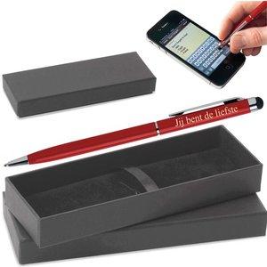 Valentijn Pen in Doosje met naam