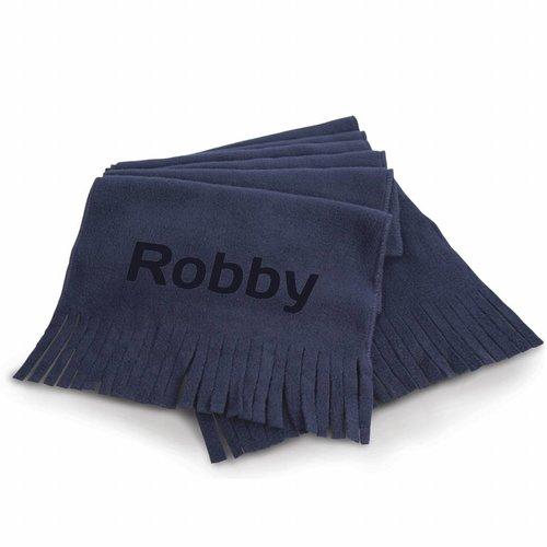 Sjaal met naam gepersonaliseerd